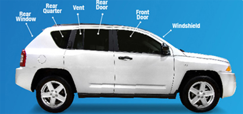 Auto Glass Positions